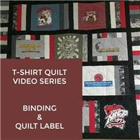 T-Shirt Quilt - Part 6: Binding and Labeling