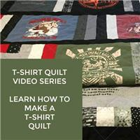 How to Make a T-Shirt Quilt