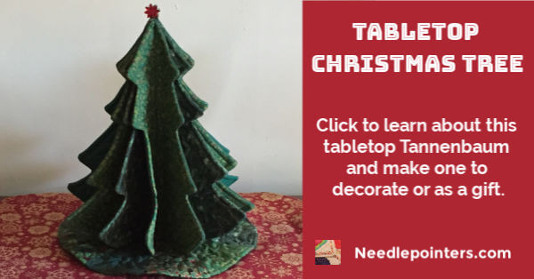 Tabletop Christmas Tree - facebook