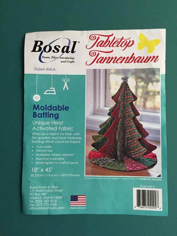 Tabletop Tannenbaum Tree - Batting