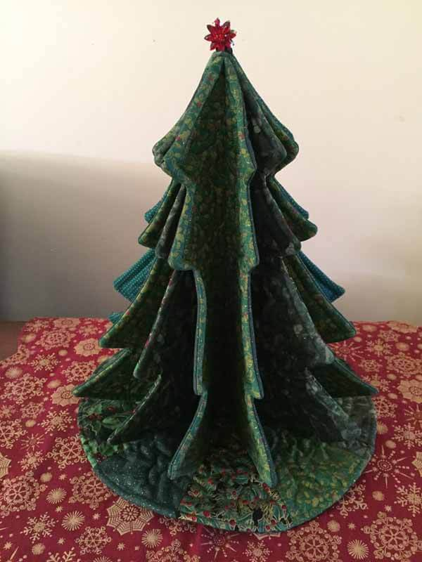 Tabletop Tannenbaum Tree - Completed Close up