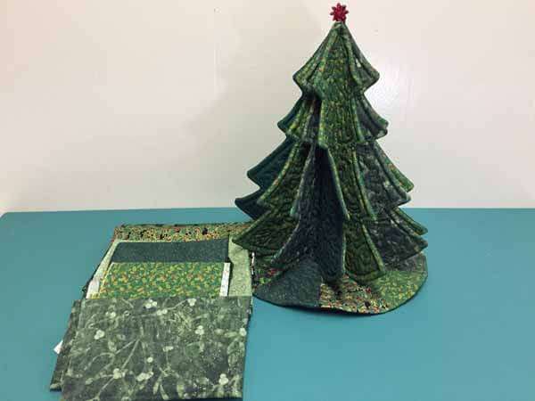 Tabletop Tannenbaum Tree - Fabrics