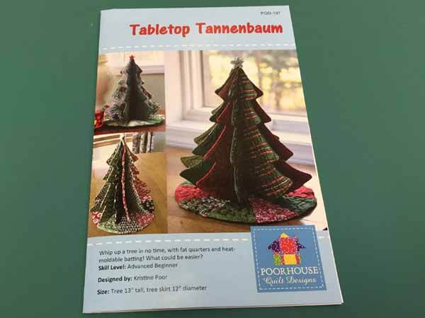 Tabletop Tannenbaum Tree - Pattern