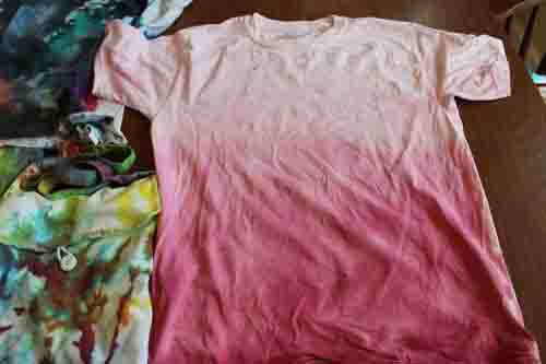 Tie Dyed Shirt Ombre