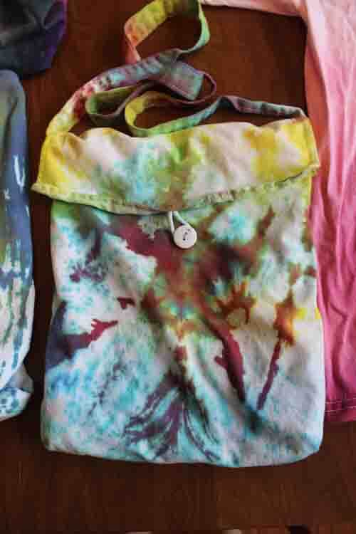 Tie Dyed Bag