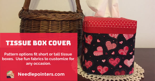 Tissue Box Cover Project