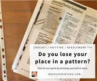 Don't Lose Your Place in a Pattern