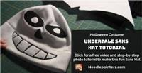 How to make an Undertale Sans Hat