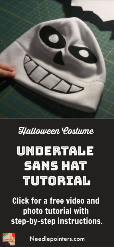 Undertale Sans Hat Tutorial - Pin