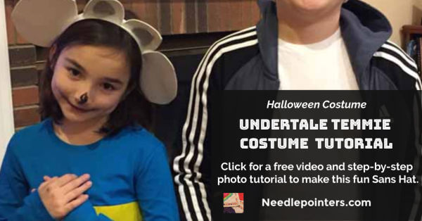 Undertale Temmie Costume Tutorial