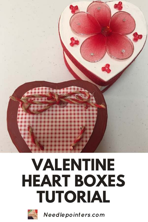 Valentine's Day Heart Boxes - pin2