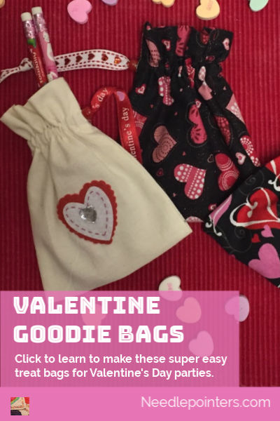 Valentine Goodie Bags Tutorial - pin