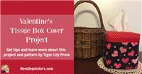 Tissue Box CoverUps by Tiger Lily Press
