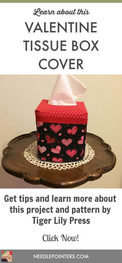 Valentines Tissue Box Cover Project - Pin