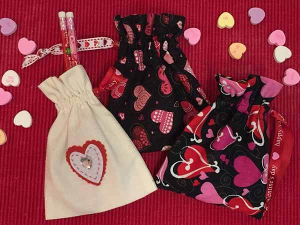 Valentines Goodie Bag Tutorial - Finished