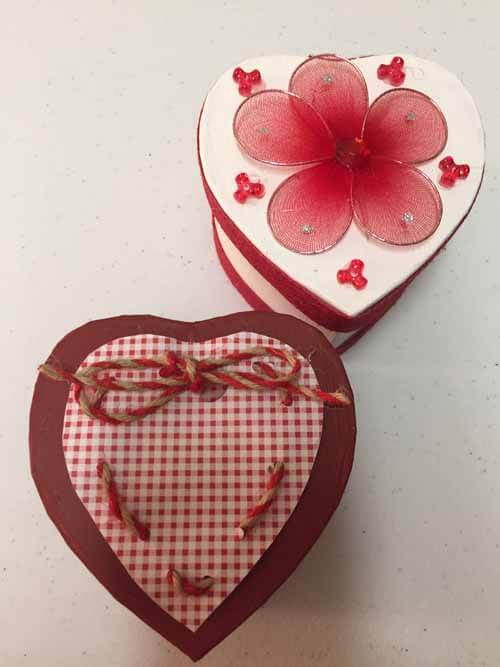 Valentine's Day Heart Box Tutorial