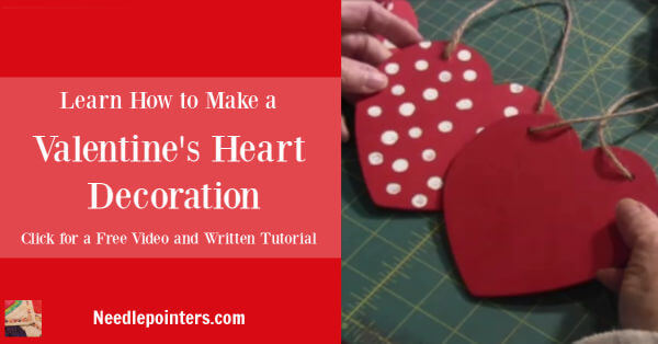 Wooden/Foam Heart Craft