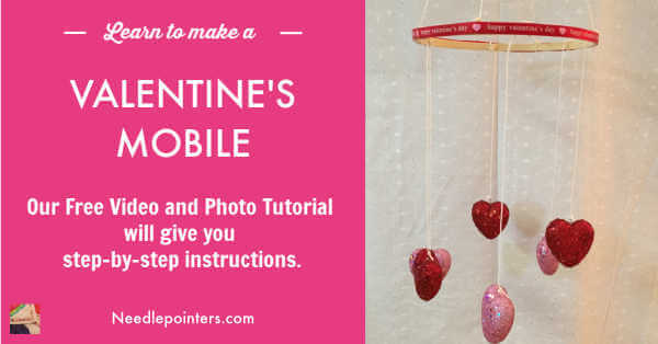 Valentine's Day Heart Mobile