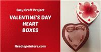 Valentine's Day Heart Boxes
