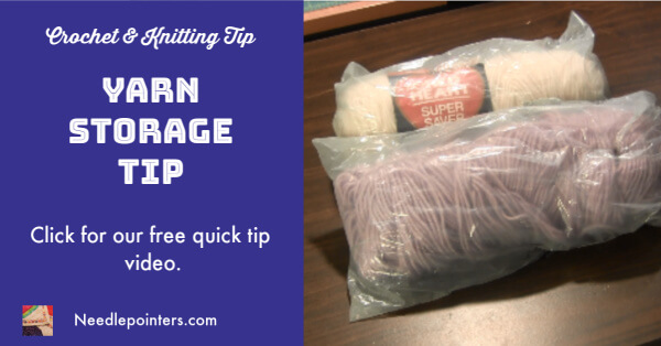 Yarn Storage Tip