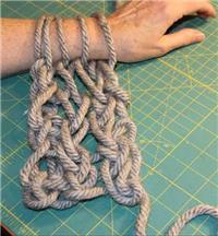 Arm Knitting - How to Arm Knit