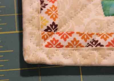 Binding a Pot holder