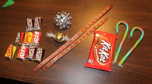 Candy Sleigh Supplies
