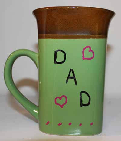 Father's Day Mug Tutorial