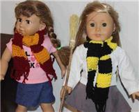 Doll Scarf (Harry Potter Doll Scarf)