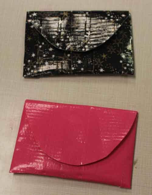 Duct Tape Coin Pouch Pattern