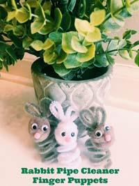 How To Make Bunny Finger Puppets Kids Will Love