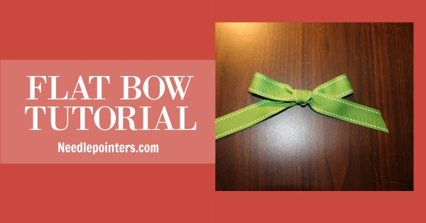 Flat Ribbon Bow