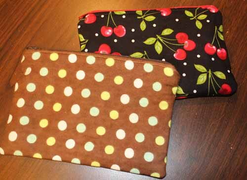 Zipper Lined Pouch