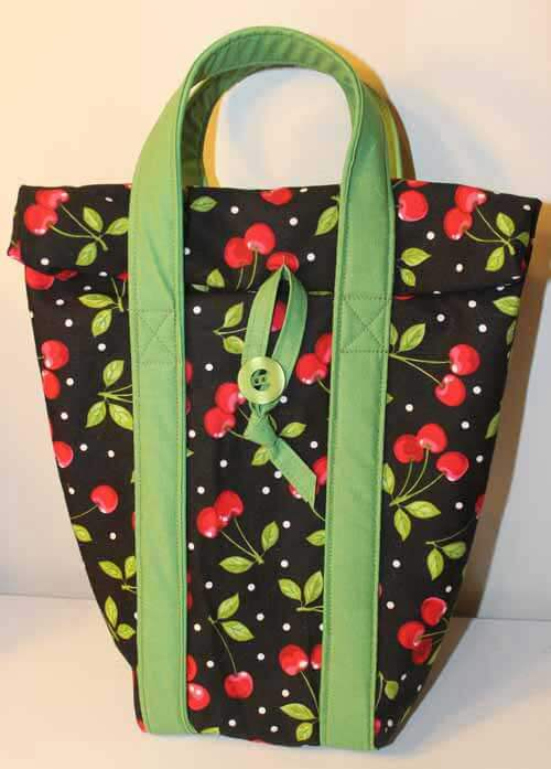 Insulated and Lined Lunch Bag