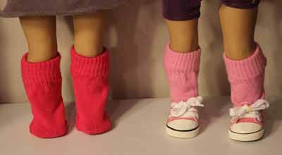 DIY Doll Socks