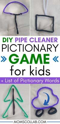 How To Play Pictionary With Pipe Cleaners And No Board Game