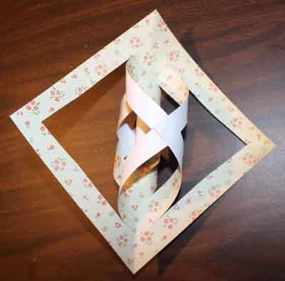 3D Paper Snowflake Tutorial - 3rd twist & glue