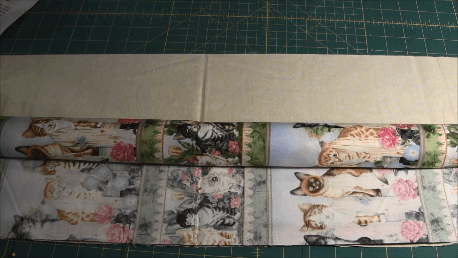 How to make a PIllowcase - Rolling Fabric