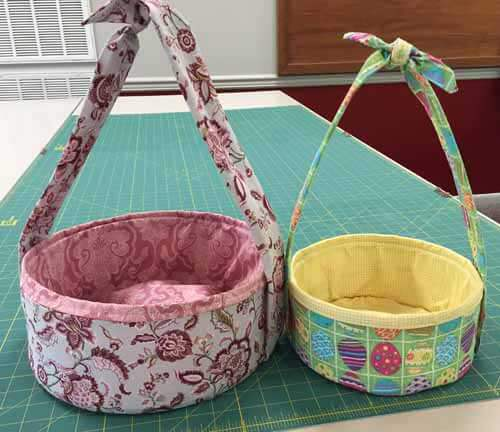 Fat Quarter Gypsy Basket Popup