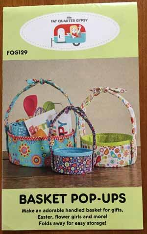 Pop Up Basket Pattern