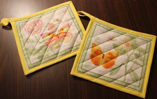Learn to make a potholder tutorial