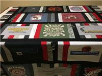 T-Shirt Quilt - Part 4: Quilt Sandwich