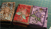 Machine Embroidered Sewing Kit
