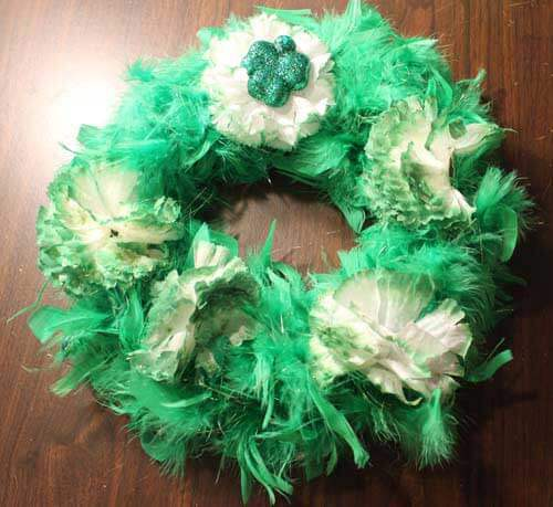 Saint Patrick's Day Wreath