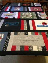 T-Shirt Quilt - Part 3: Deciding How to Quilt