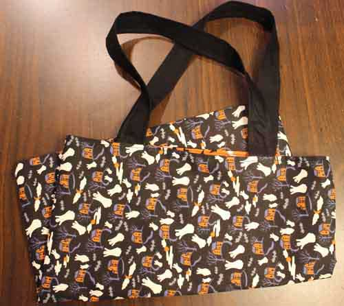 Fabric Trick-or-Treat Bag
