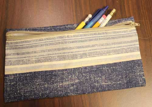 Zippered Pencil Bag