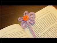 Bookmark - Spool Knitted Bookmark