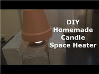 Candle Space Heater