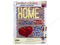 Janlynn Plastic Canvas Kit - Home Is Where The Heart Is